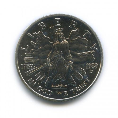 1 доллар - 200-летие Конгресса 1989 года D (США)