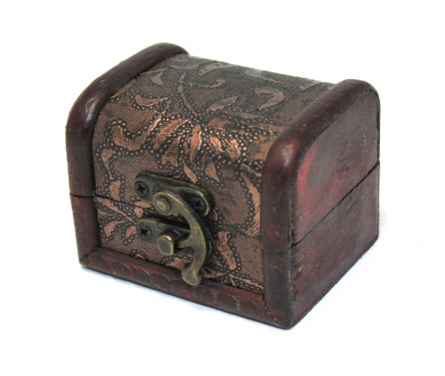 Шкатулка-сундук (8×6 см)