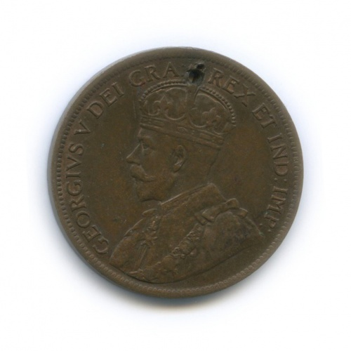 1 цент 1916 года (Канада)