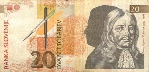 20 толаров 1992 года (Словения)