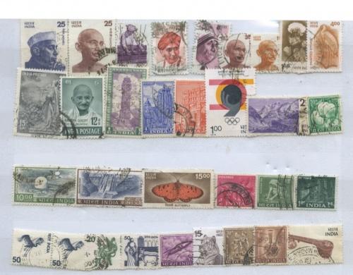 Набор почтовых марок (Индия)