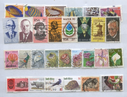Набор почтовых марок (ЮАР)