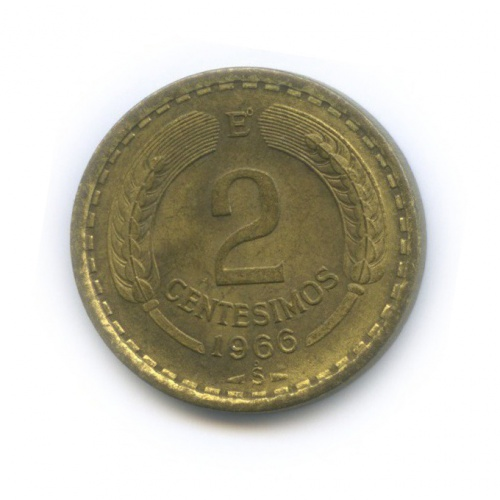 2 сентесимо 1966 года (Чили)
