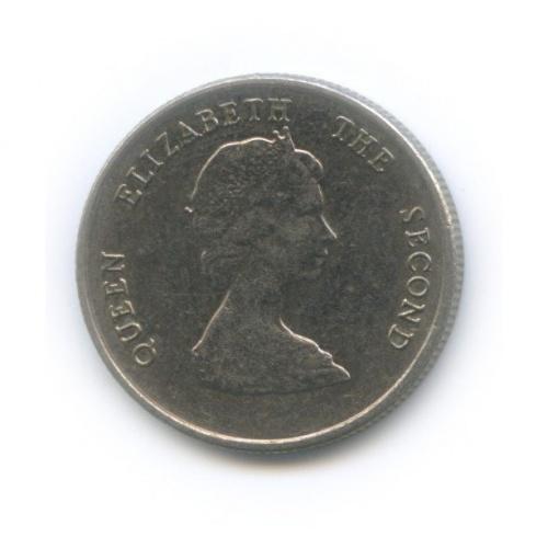 10 центов, Восточные Карибские территории 1993 года