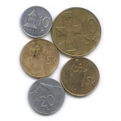 Набор монет (Словакия)