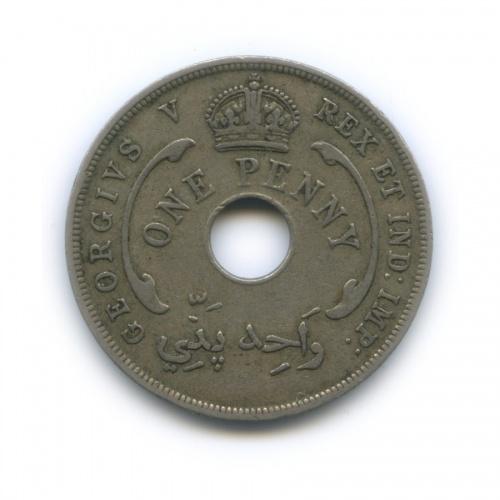 1 пенни, Британская Восточная Африка 1929 года