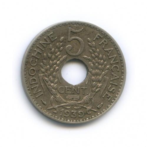 5 центов, Французский Индокитай 1939 года
