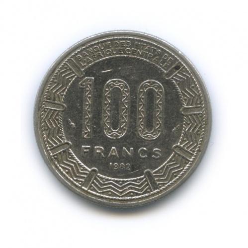 100 франков, Республика Габон 1982 года