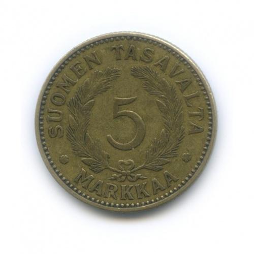 5 марок 1931 года (Финляндия)