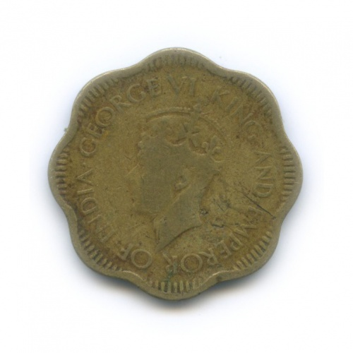 10 центов, Цейлон 1944 года