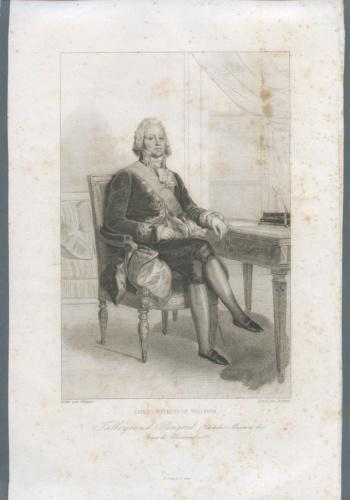 Гравюра «Талейран» (начало XIX века) (Франция)