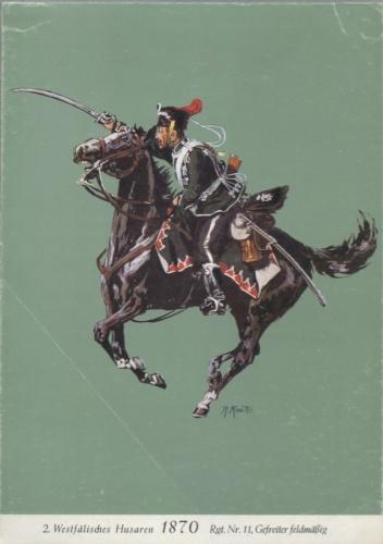 Гравюра «Кавалер-ефрейтор - Ричард Кнотел» (1857-1914 гг.) (Германия)