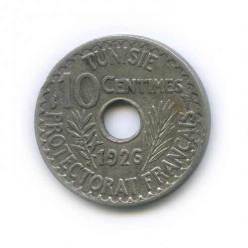 10 сентим 1926 года (Тунис)