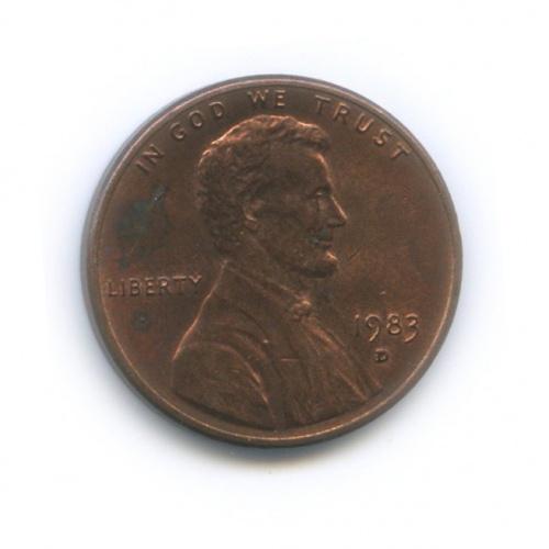 1 цент 1983 года D (США)