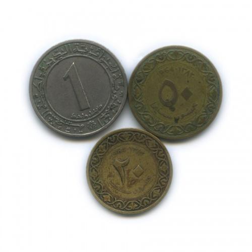 Набор монет 1964, 1972 (Алжир)