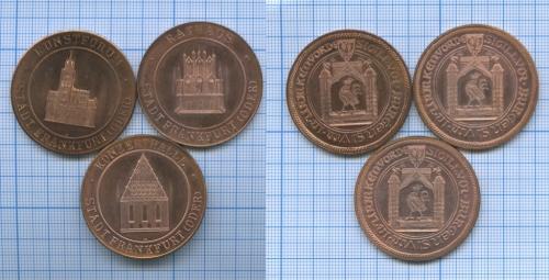 Набор памятных медалей «Stadt Frankfurt (Oder)» (Германия)