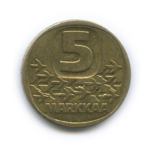 5 марок 1983 года N (Финляндия)