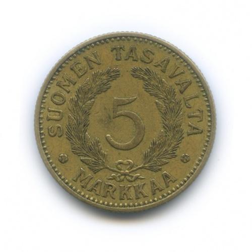 5 марок 1936 года (Финляндия)