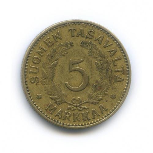 5 марок 1938 года (Финляндия)