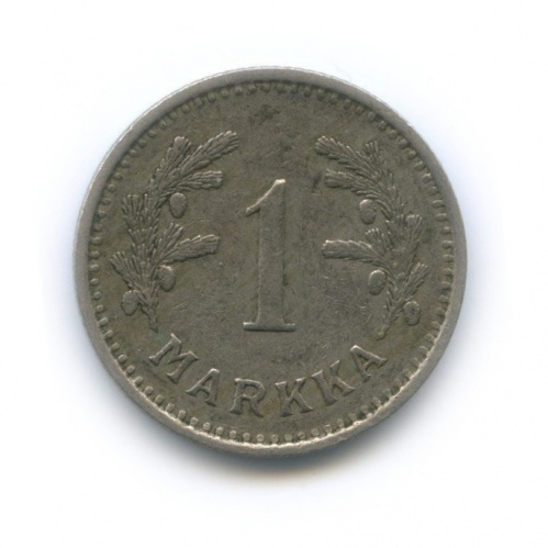 1 марка 1938 года (Финляндия)