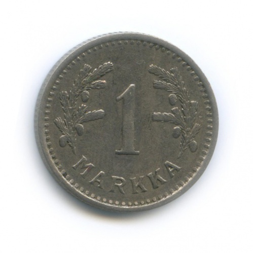1 марка 1937 года (Финляндия)
