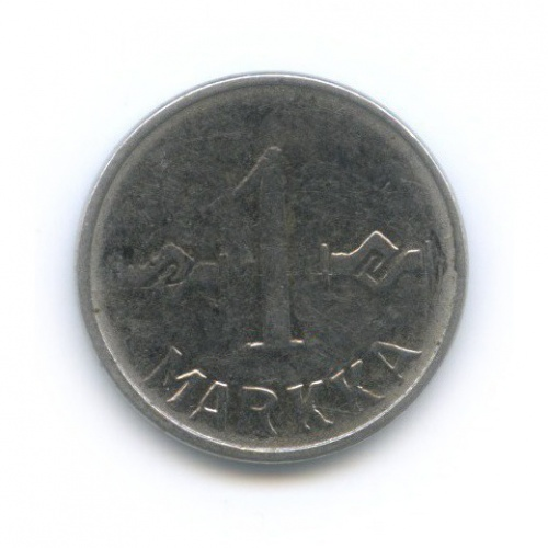 1 марка 1955 года (Финляндия)