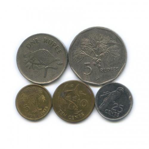 Набор монет (Сейшельские Острова)