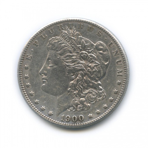 1 доллар 1900 года