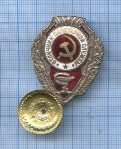Знак «Отличник санитарной службы» (Россия)