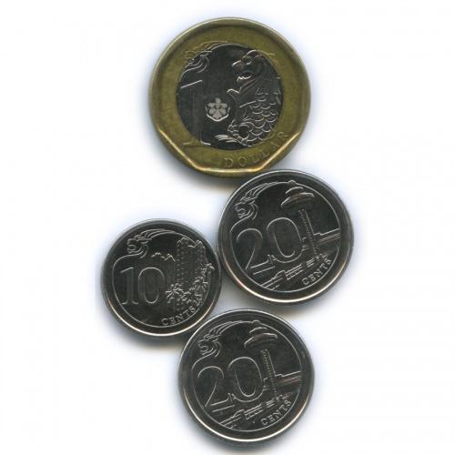 Набор монет 2013, 2014 (Сингапур)