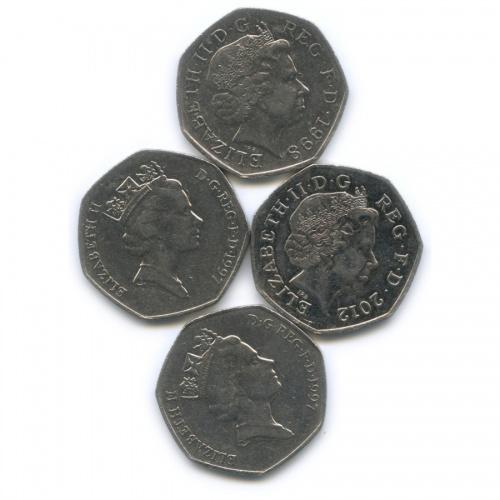 Набор монет 50 пенсов (Великобритания)