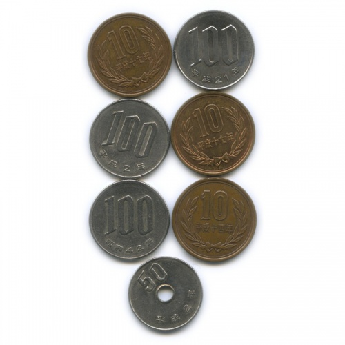 Набор монет (Япония)
