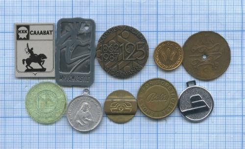 Набор жетонов (разные страны)