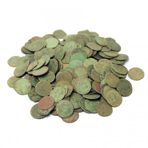 Набор монет - 1 солид «боратинка», Речь Посполитая (XVII в., 225 шт.)