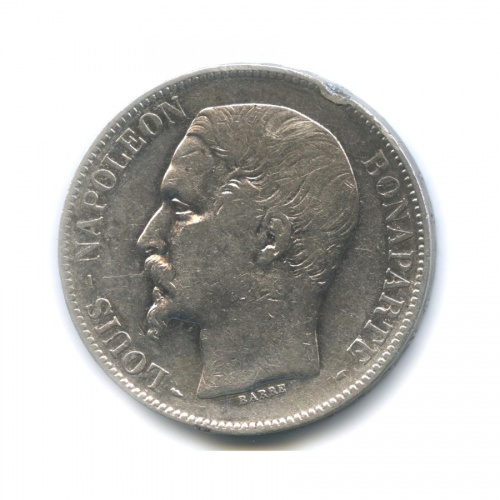 5 франков - Луи-Наполеон 1852 года (Франция)