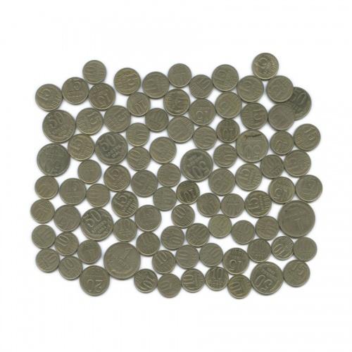Набор монет СССР (90 шт.) 1961-1991 (СССР)