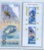 100 рублей - Олимпийские игры вСочи-2014 (серия аа, в открытке) 2014 года (Россия)