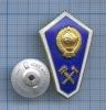 Знак нагрудный «Обокончании технического училища» ЛМД (СССР)
