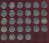 Набор монет - 200 лет победы России вОтечественной войне 1812 года (вфутляре «Leuchtturm», 48 ячеек) 2012 года (Россия)