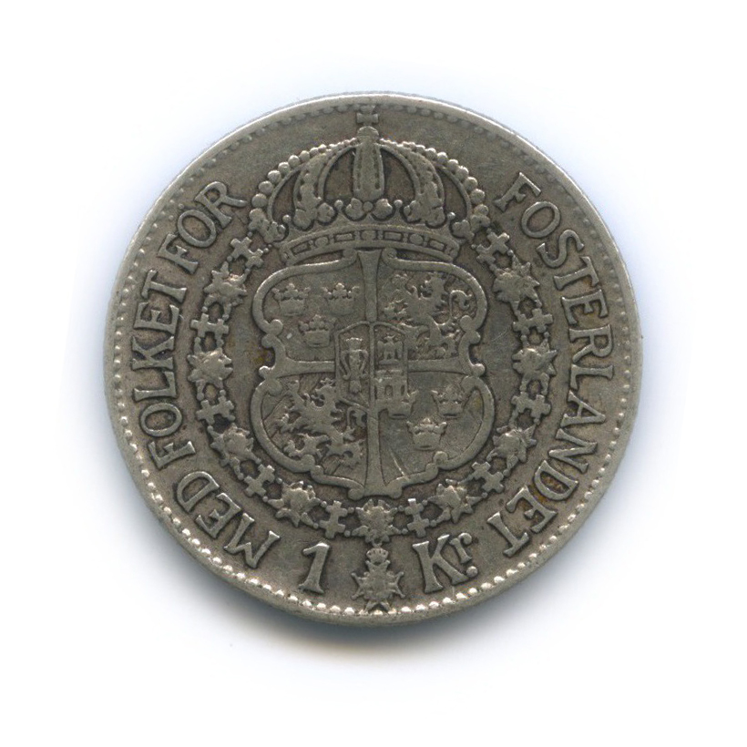 1 крона 1935 года (Швеция)