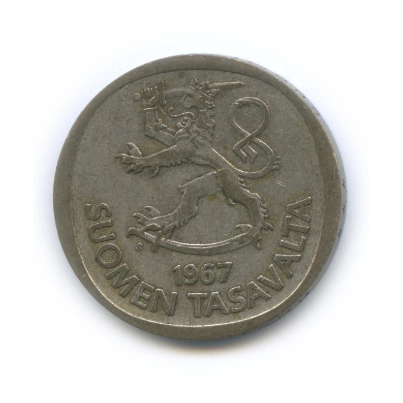 1 марка 1967 года (Финляндия)