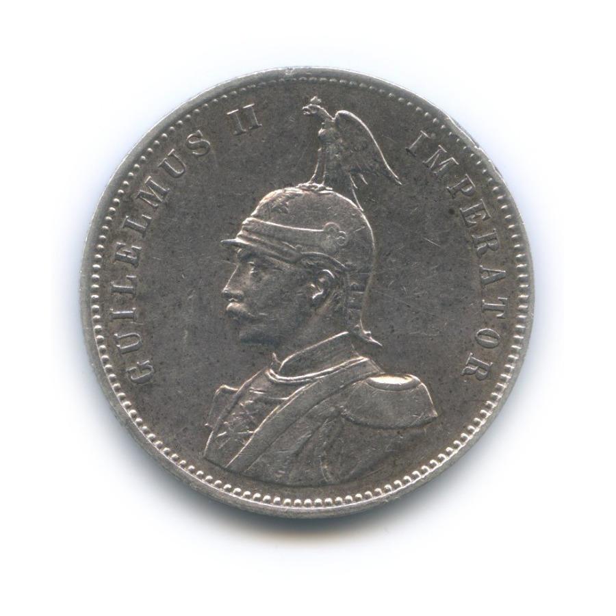 1 рупия - Вильгельм II, Немецкая Африка 1910 года J