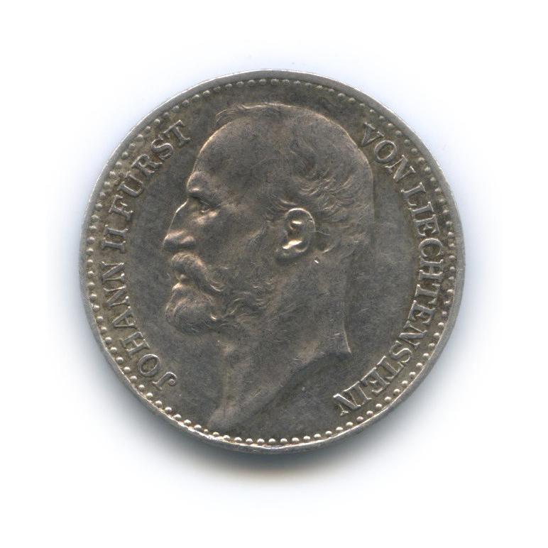 1 крона - Иоганн II, Лихтенштейн 1915 года