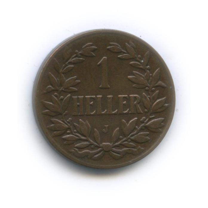 1 геллер, Немецкая Восточная Африка 1907 года