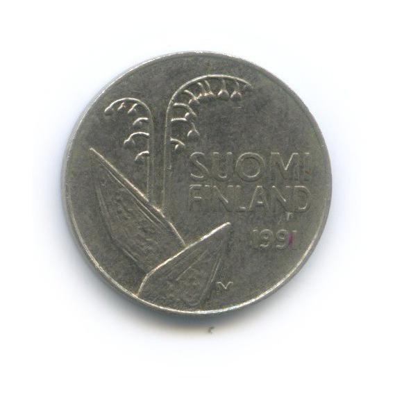 10 пенни 1991 года (Финляндия)