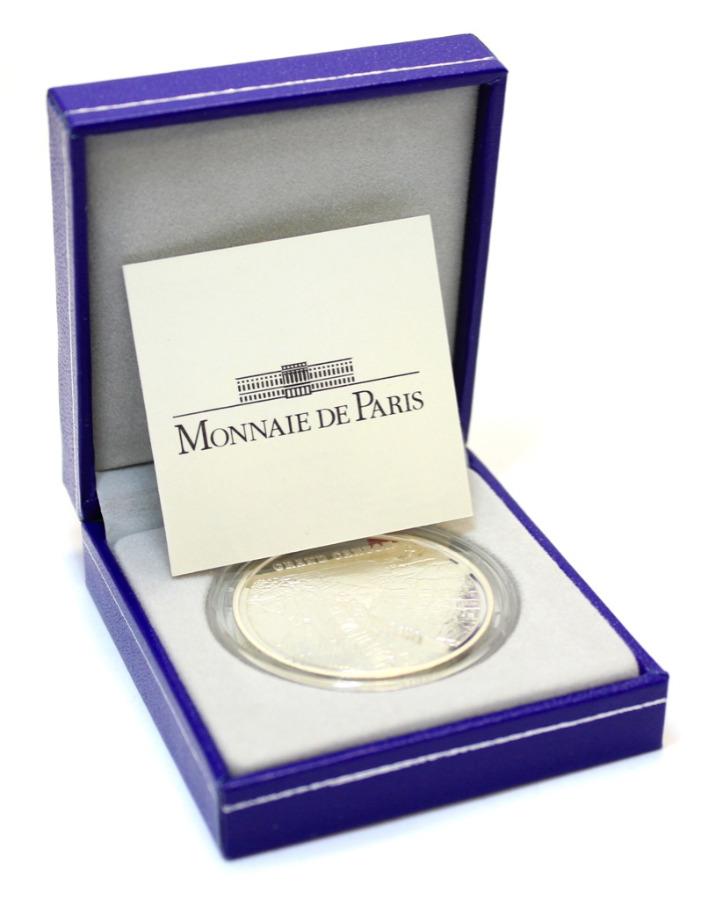 1 1/2 евро - Гранд Каньон (ссертификатом, воригинальной коробке) 2008 года (Франция)