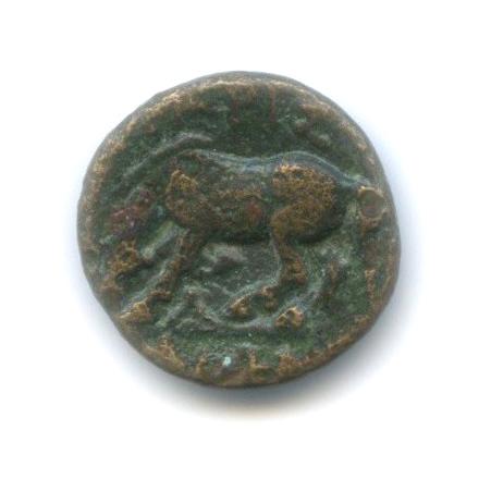 Фессалия, Ларисса, 400-344 гг. до н. э., Нимфа/конь