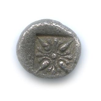 1/12 статера - Иония, Милет, V в. до н. э., лев/звезда