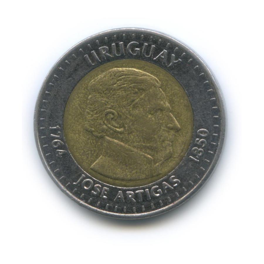 10 песо 2000 года ** (Уругвай)