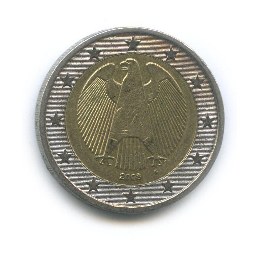 2 евро 2008 года F (Германия)